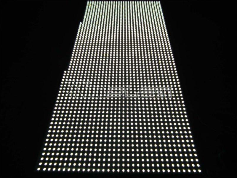 Bespoke black epoxy 12v led panel light for backlit applications 5