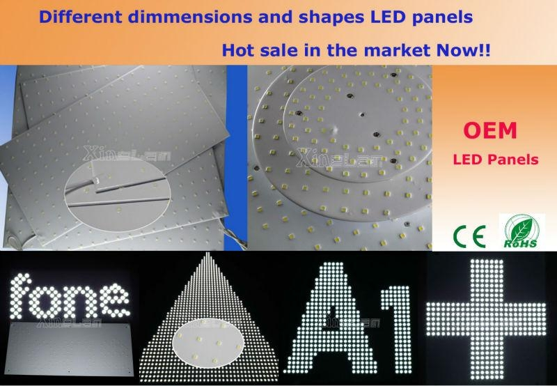 圆形-圆角-八角形-三角形-方形-矩形 LED模组背光 5