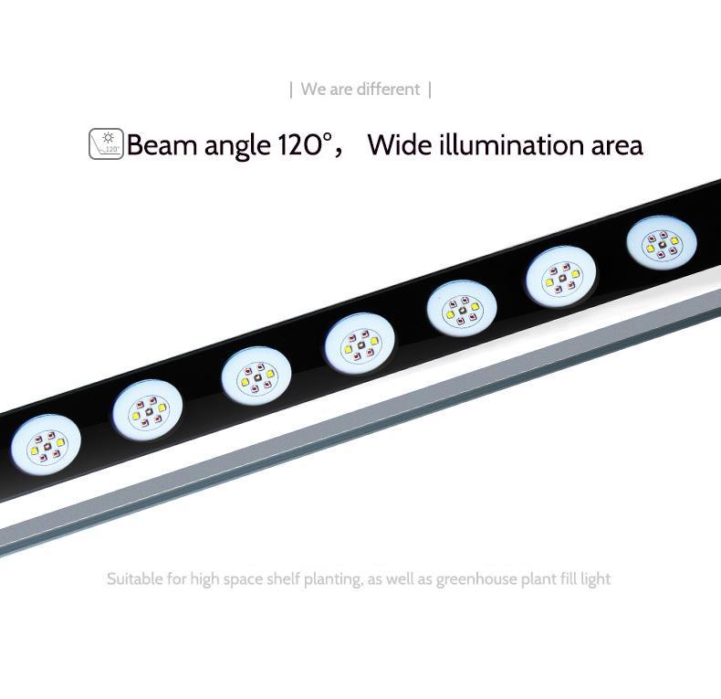 株间照明内置电源低温升植物灯模组大棚植物补光高空间层架种植灯 9
