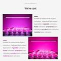 LED Grow Light Bar  Housing waterproof LED Light Bar For Lettuce Growth 11