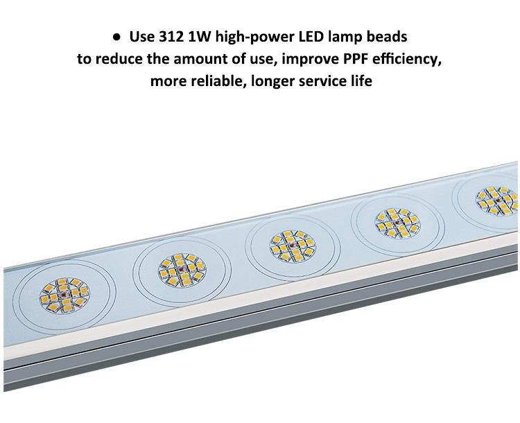 高效率層架植物燈垂直農業植物照明植物led 9