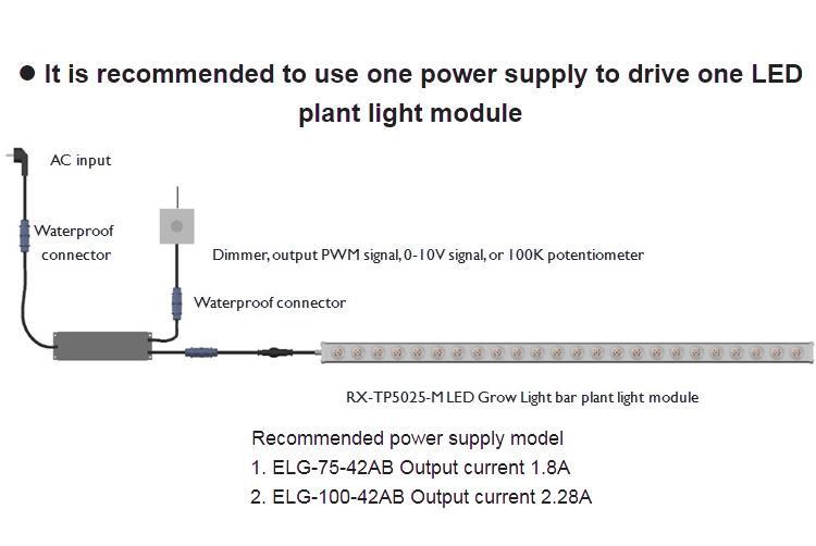 高效率層架植物燈垂直農業植物照明植物led 10