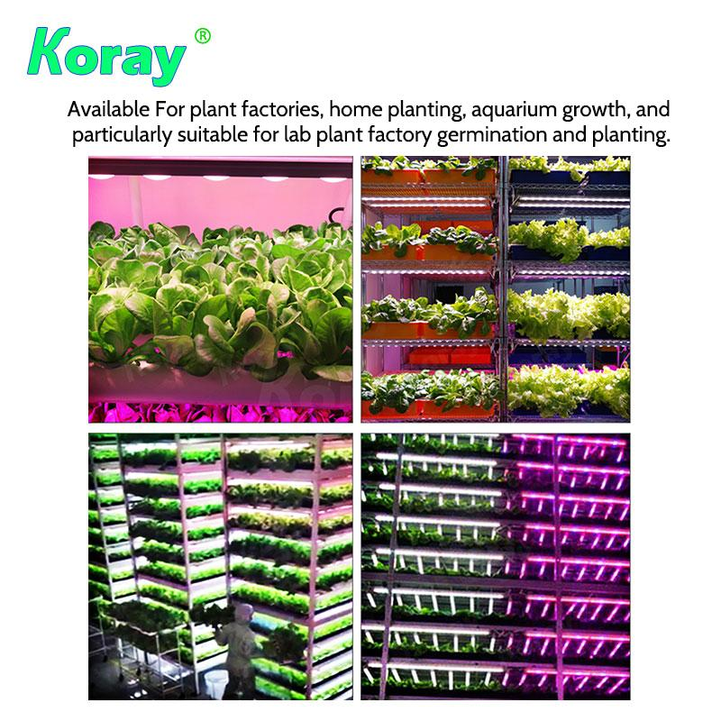 4 individual spectrum channels adjust the Grow Light Module,spectrum you need 3