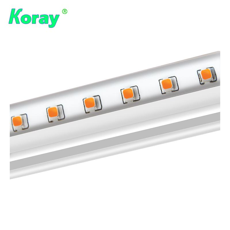 Waterproof commercial hydroponic led grow light tube bar full spectrum grow lamp 2