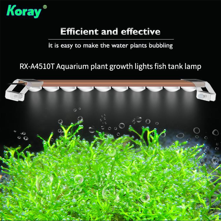 Aquarium plant growth lights fish tank lamp ultra-high system light effect 7