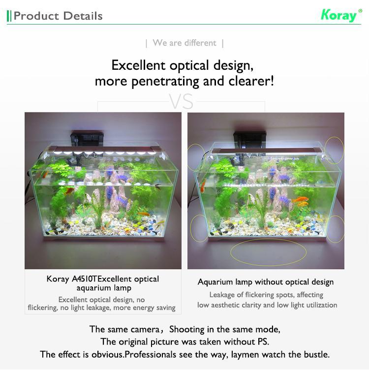 Aquarium plant growth lights fish tank lamp ultra-high system light effect 10