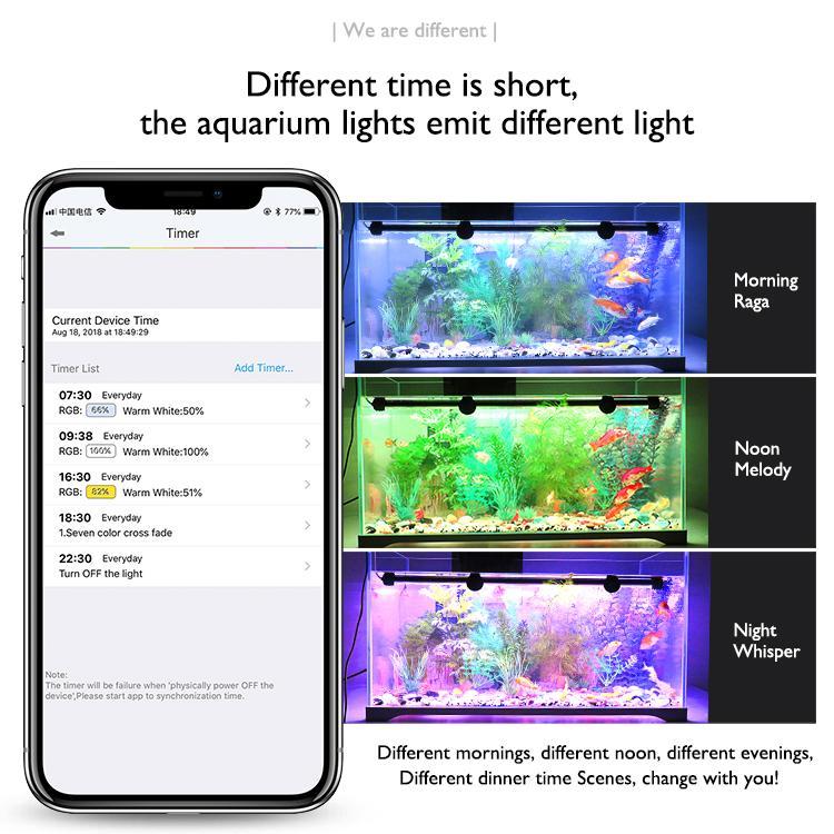 超高亮家用鱼缸潜水灯水族灯水草植物灯 13