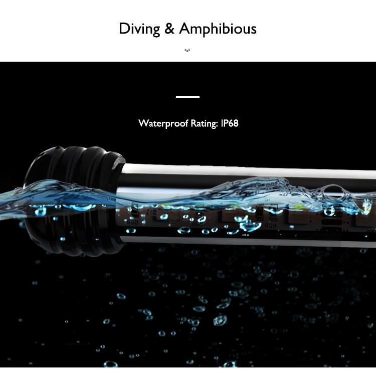 超高亮家用鱼缸潜水灯水族灯水草植物灯 16
