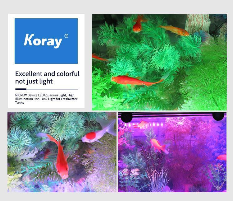 水陆两用鱼缸灯LED防水造景灯水族箱灯潜水灯 7