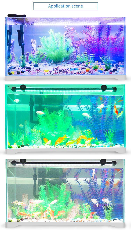 水陆两用鱼缸灯LED防水造景灯水族箱灯潜水灯 16