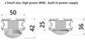 1000W大功率植物燈藥物種植燈大棚led補光燈 7