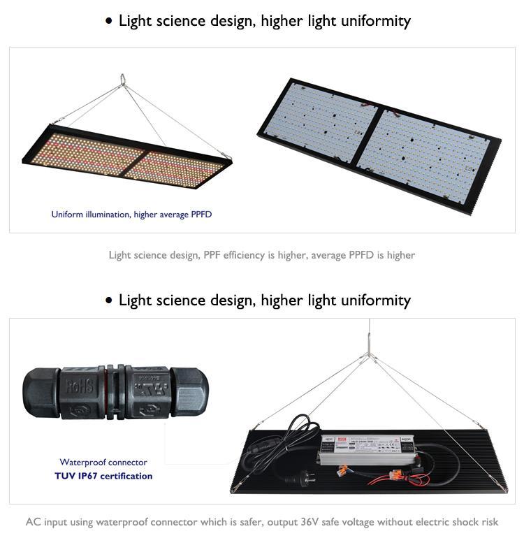 三星LM301高效率灯珠额外增加了深红660nm光谱篷药用植物灯 11