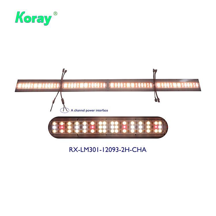 雙通道藥用植物燈LM301和額外的深紅660nm以及遠紅730nm 4