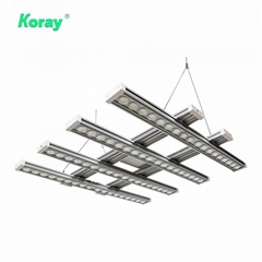 Toplighting medical plant growth module and array lamp,