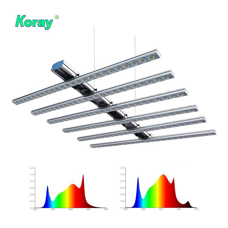 600W低價格經濟型頂光藥用植物藥用植物種植陣列燈 1
