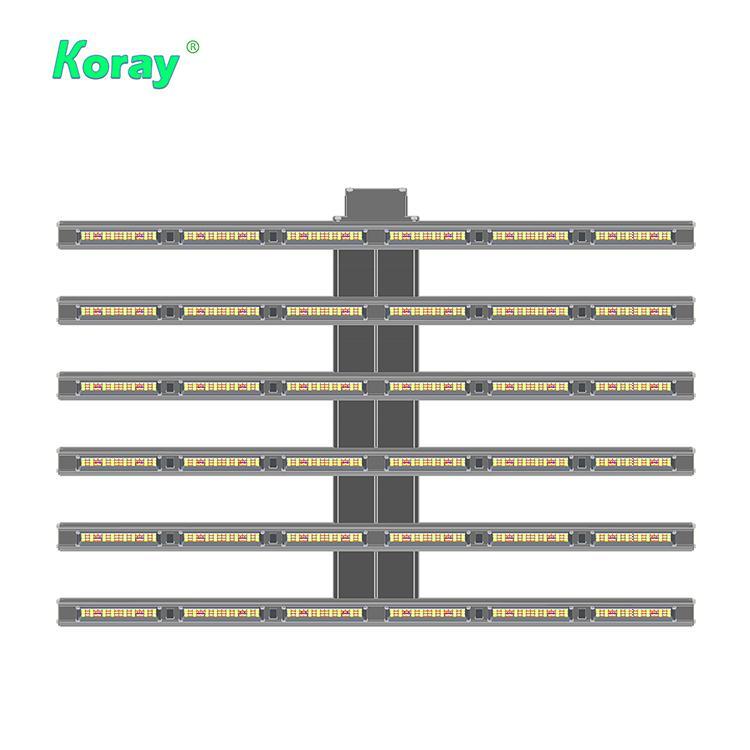 四通道可調光譜商業種植藥用植物生長陣列燈 6