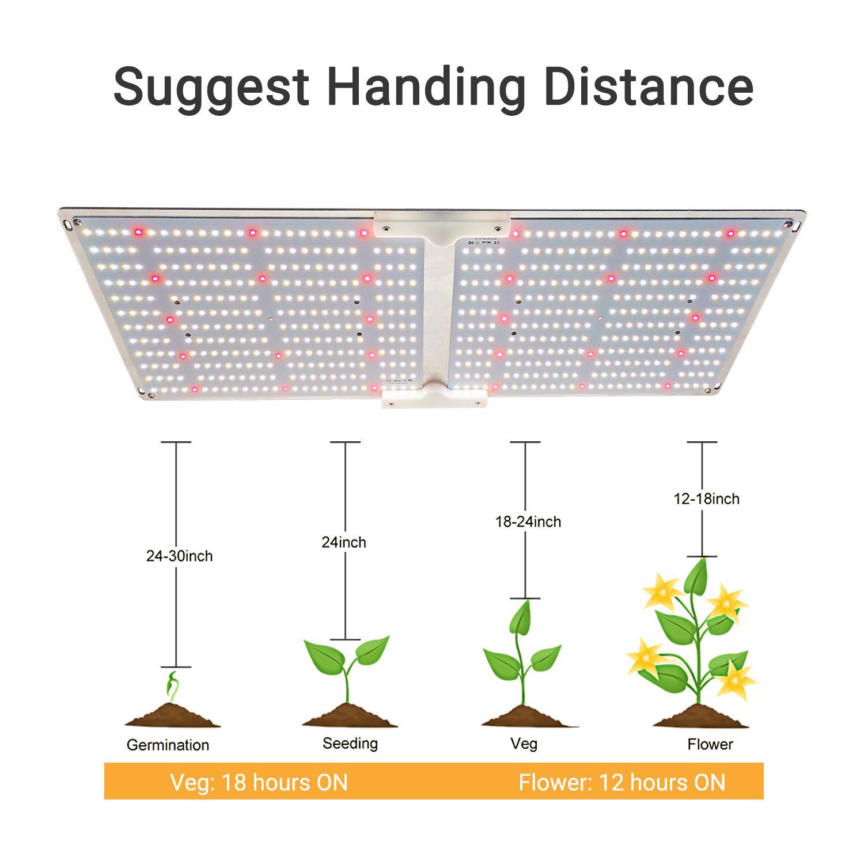 G2000 SF2000 LED量子版植物生長燈 2