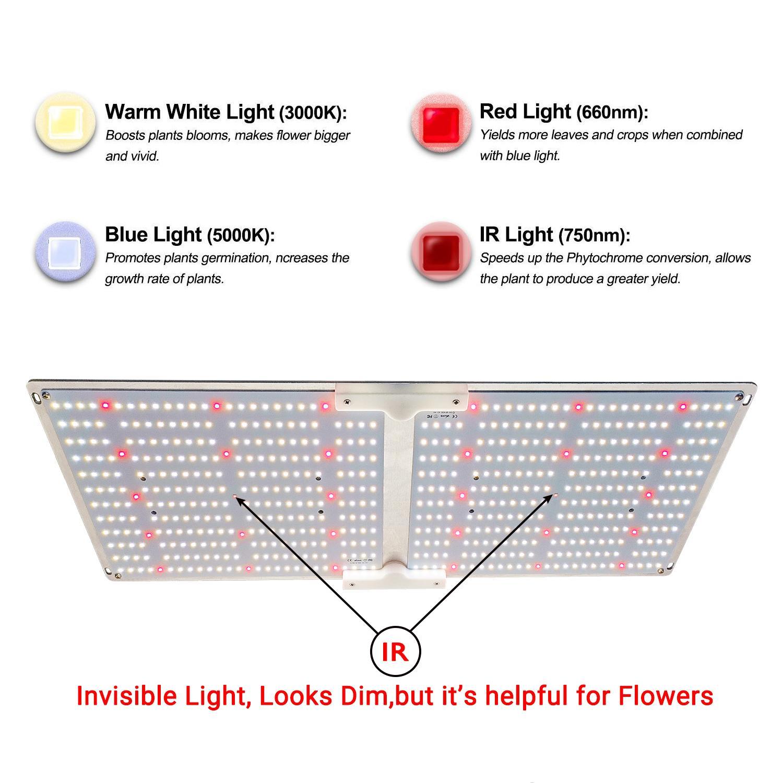 G2000 SF2000 LED量子版植物生長燈 4