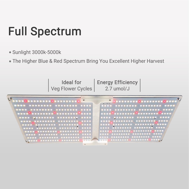 G2000 SF2000 LED量子版植物生长灯 7