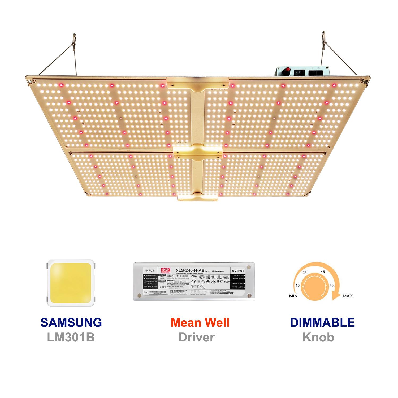Samsung LM301H lamp bead and German brand gardening LED plant light module 1