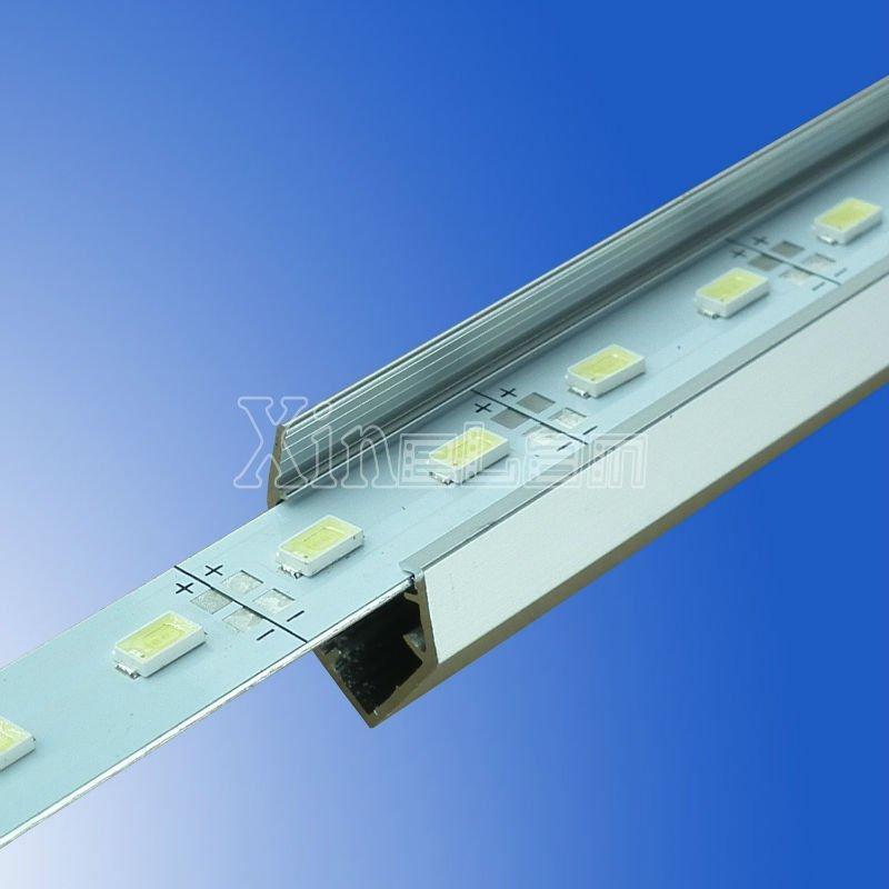 72LED/M U V slot non-waterproof SMD 5730 rigid aluminium led strips 1