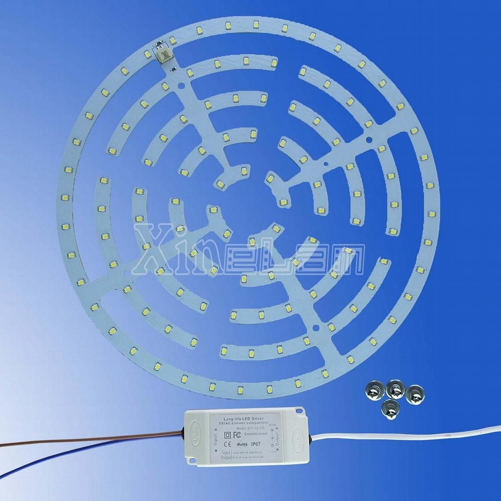 新设计-不防水 LED 吸顶灯套件替换荧光灯-长寿命-无闪烁 2