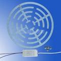新設計-不防水 LED 吸頂燈套件替換熒光燈-長壽命-無閃爍 2