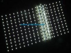 网状LED点阵背光用于室内外广告招牌/灯箱