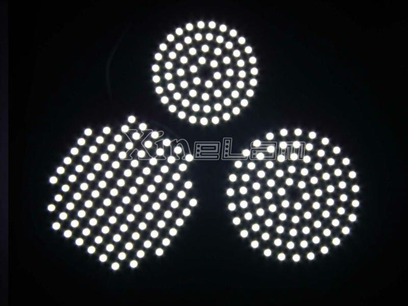 3mm thin slim round shape led panel light backlight 1