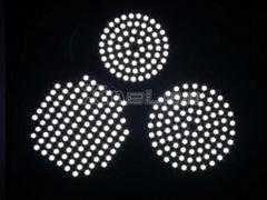 3mm thin slim round shape led panel light backlight