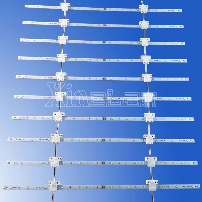 专业生产双面柔性LED网格用于大型广告灯箱 2