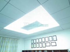 Aluminum led ceiling panel light 3mm slim waterproof