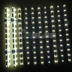 LED lattice backlight double sided leds optional