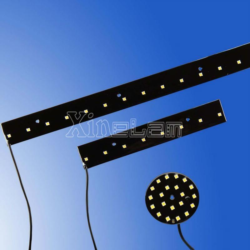 灌封黑色環氧 12V LED 燈板應用於廣告背光 1