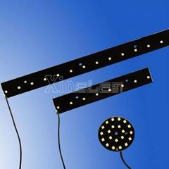 灌封黑色环氧 12V LED 灯板应用于广告背光