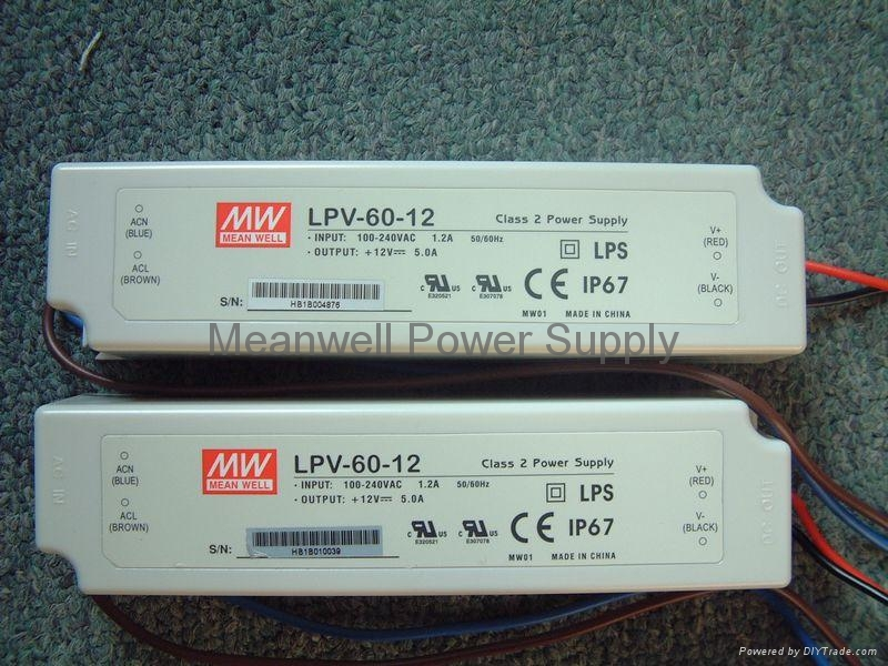 Meanwell Power Supply LPV,ELN,NES,HLG Series 1