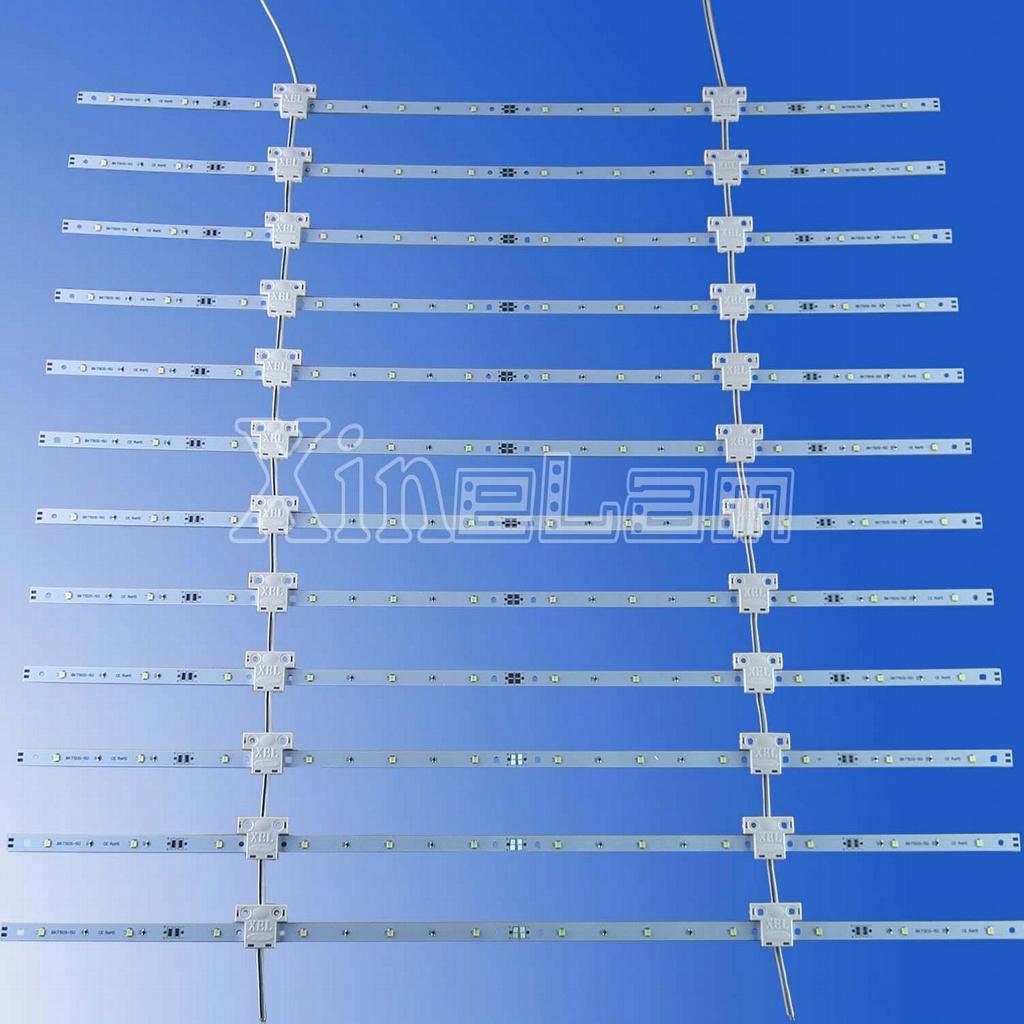 可伸縮LED網格背光源 1