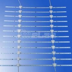 可伸縮LED網格背光源