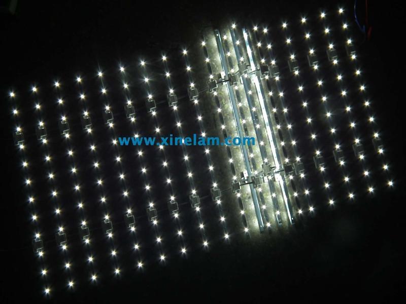 可伸缩LED网格背光源 2