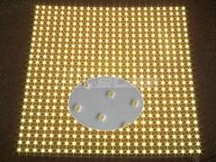 Aluminum board cooling LED back light panel
