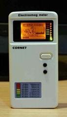 数字LCD高低双频电磁波测试器(100MHz-8GHz)
