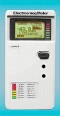 数字LCD高低双频电磁波测试器(100MHz-3GHz)