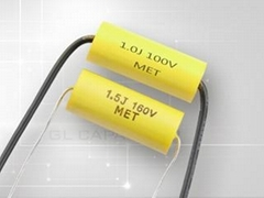 Axial Shape Metallized Polyester Film Capacitor