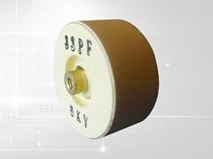 CCG61 Drum-shaped high power ceramic capacitor