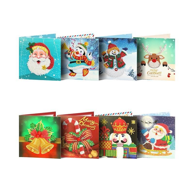 new 5d diamond christmas gift greeting card 3
