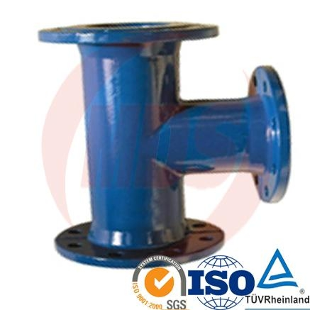 ductile iron pipe fittings all socket tee  1