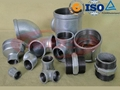 BS cast malleable iron pipe fitting