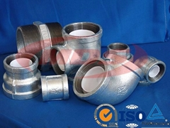 American standard malleable iron pipe fitting
