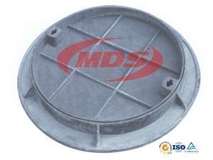 Recessed Concret Ductile Iron Manhole Cover 1