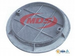 Recessed Concret Ductile Iron Manhole Cover